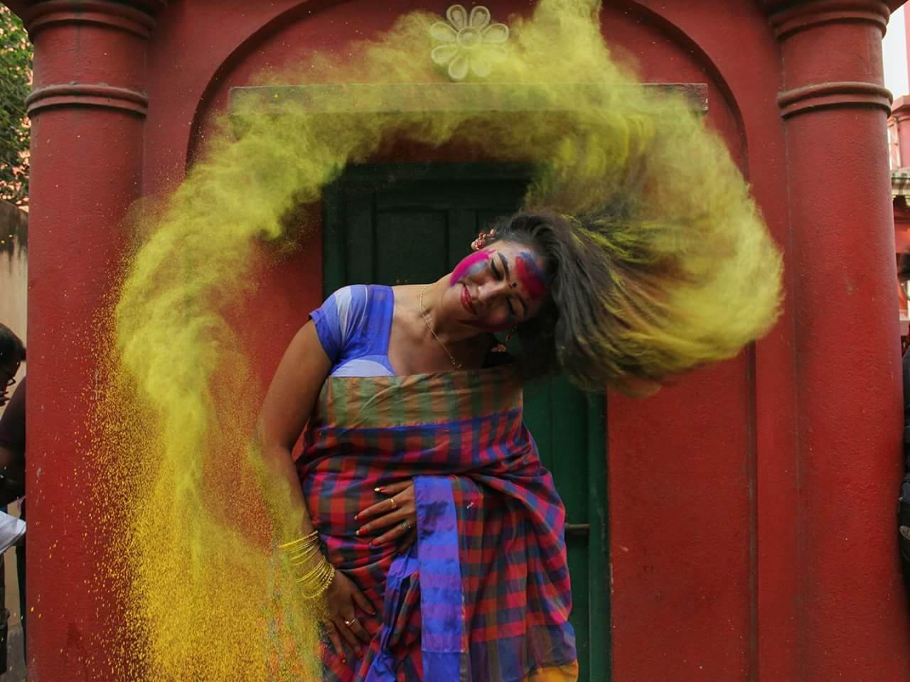 Photo of HOLI IN HUBBALLI TODAY