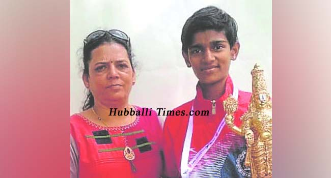Photo of DHARWAD GIRL BAGS GOLD IN 600M RACE