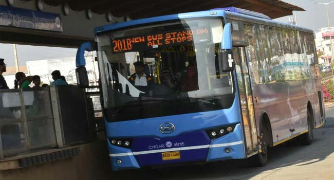 Photo of BEFORE BRTS COULD CELEBRATE ITS ONE MONTH OF INAUGURATION IT HAS INCREASED THE FARES