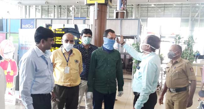Photo of THERMAL SCREENING BEGINS AT AIRPORT, RAILWAY STATIONS