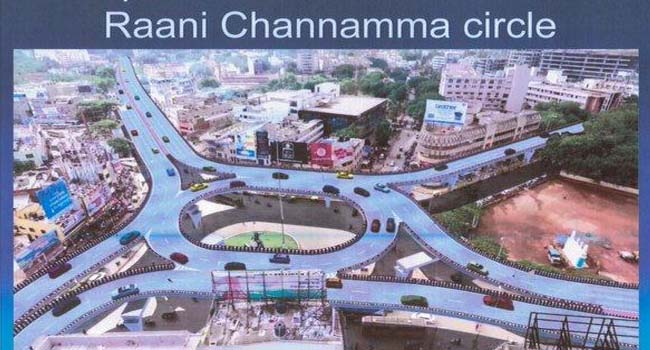 Photo of Financial Bid For Chennamma Circle Flyover Soon: Joshi