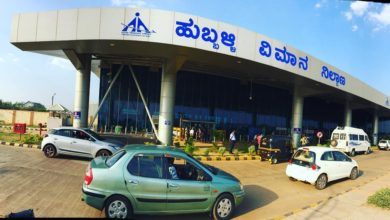 Photo of Belagavi Flight Lands In Hubballi Due To Bad Weather