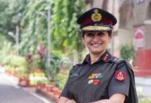 Photo of Dr. Madhuri From Dharwad Is Now Lieutenant General In Indian Army