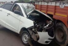 Photo of Lorry-Car Collision Near Hubballi: 1 Killed, 4 Injured