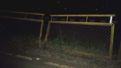 Photo of Bike Rams Divider Near Rayapura: Two Seriously Injured