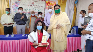 Photo of Covid Warriors Felicitated On Account Of Meeladunnabi