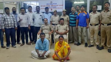 Photo of Hubballi Rly Police Arrest Woman Who Killed Her Husband.
