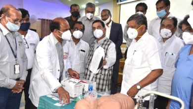 Photo of Aequs Gives 200 Portable Ventilators To KIMS Hospital