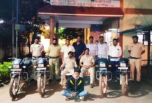 Photo of Keshwapur Police Arrest Motorbike Thief, Seize 4 Bikes