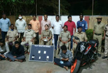 Photo of Irani Gang Members Arrested