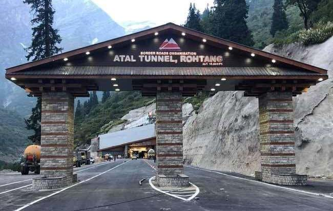 Photo of PM Modi Inaugurates World's Longest Highway Tunnel In Rohtang