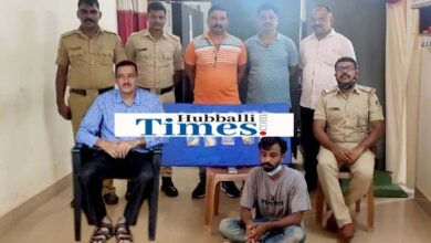 Photo of Theft In Temple: Couple From Dharwad Arrested