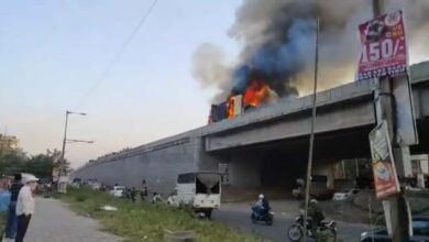 Photo of Video Of BRTS Bus Catching Fire Is Fake: Officials