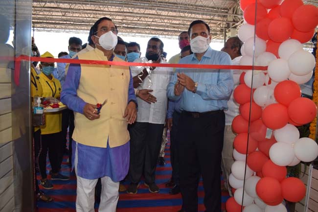 Photo of Refreshment Room Inaugurated At SSS Hubballi Station