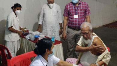 Photo of In A First, Covid Vaccination Camp Conducted At Hubballi Mosque